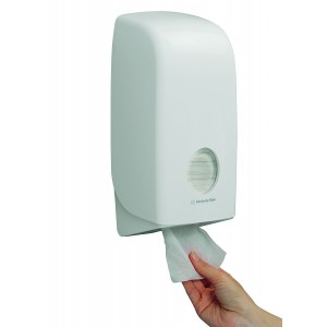 AQUARIUS* Toilettissue Dispenser 6946 Wit - Kimberly Clark