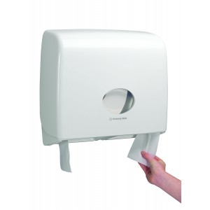 AQUARIUS* Toilettissue Dispenser Jumbo Non-Stop 6991 Wit - Kimberly Clark