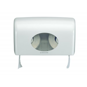 AQUARIUS* Toilettissue Dispenser Kleine rollen 6992 Wit - Kimberly Clark