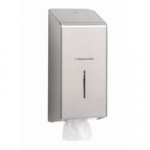 KIMBERLY-CLARK PROFESSIONAL* Toilettissue Dispenser 8972 RVS - Kimberly Clark